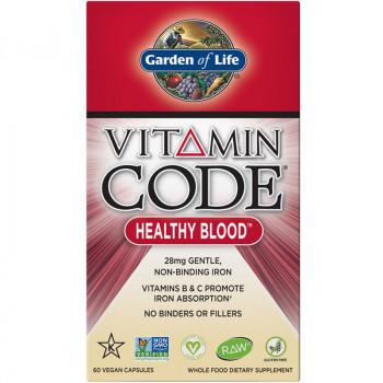 GARDEN OF LIFE Vitamin Code Healthy Blood 60vegcaps