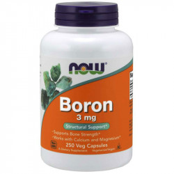 NOW Boron 3mg 250vegcaps