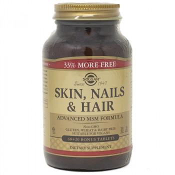 SOLGAR Skin, Nails&Hair 60+20tabs
