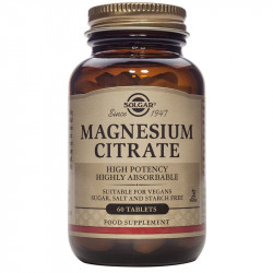 SOLGAR Magnesium Citrate 60tabs