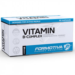 FORMOTIVA Vitamin B-Complex 60caps