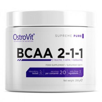 OSTROVIT Supreme Pure BCAA 2-1-1 200g
