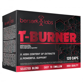 BERSERK LABS T-Burner 120caps