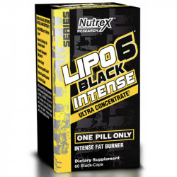NUTREX Lipo6 Black Intense Ultra Concetrate 60caps
