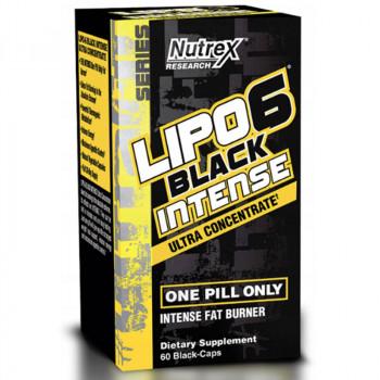 NUTREX Lipo6 Black Intense Ultra Concentrate 60caps