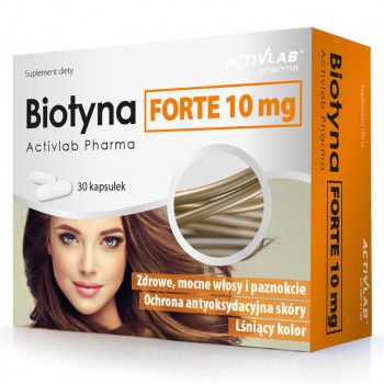 ACTIVLAB Biotyna Forte 10mg 30caps
