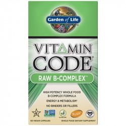 GARDEN OF LIFE Vitamin Code Raw B-Complex 60vegcaps