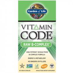 GARDEN OF LIFE Vitamin Code Raw B-Complex 120vegcaps