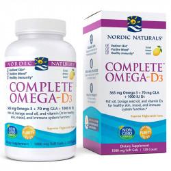 NORDIC NATURALS Complete Omega-D3 120caps
