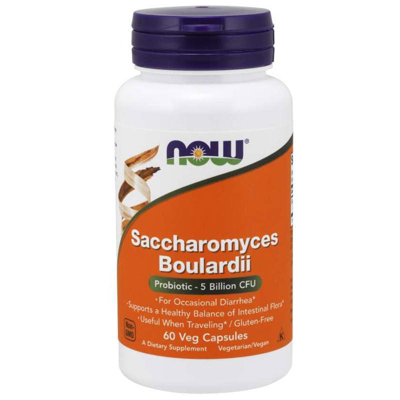 NOW Saccharomyces Boulardii 60vegcaps