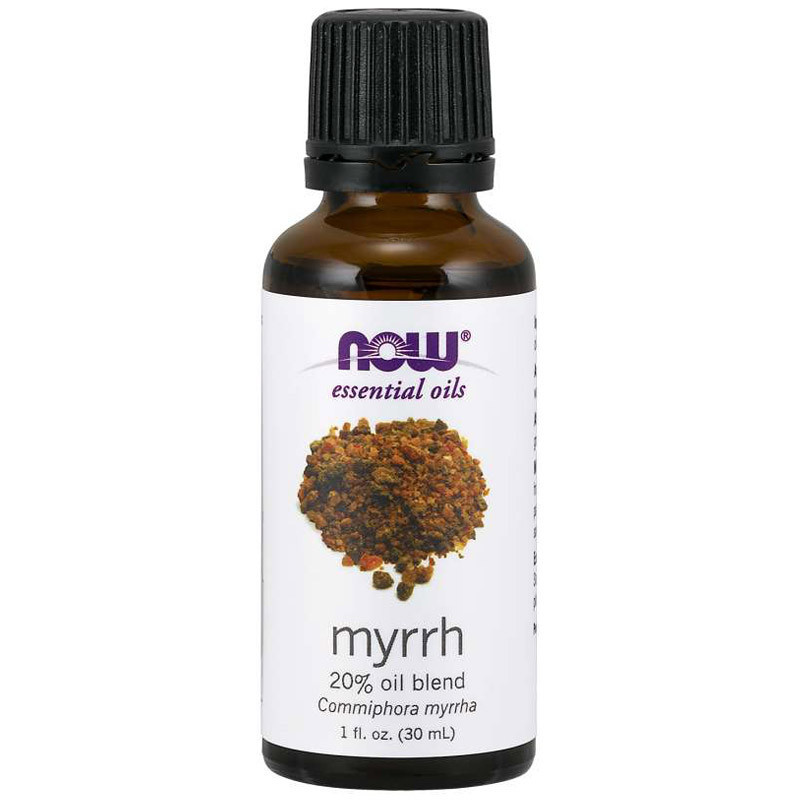 NOW Myrrh 20% Oil Blend 30ml