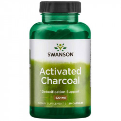 SWANSON Activated Charcoal 260mg 120caps