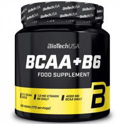 Biotech USA BCAA+B6 340tabs