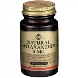 SOLAGAR Natural Astaxanthin 5mg 30caps