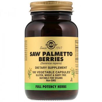 SOLGAR Saw Palmetto Berries 100vegcaps