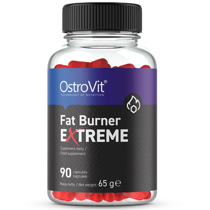 OSTROVIT Fat Burner Extreme 90caps