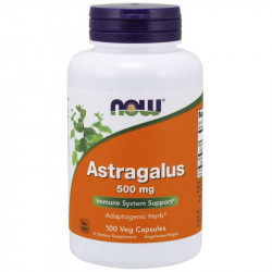 NOW Astragalus 500mg 100vegcaps