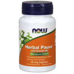 NOW Herbal Pause With EstroG-100 60vegcaps