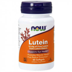 NOW Lutein 10mg Of Free...