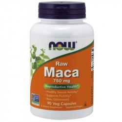 NOW Raw Maca 750mg 90vegcaps