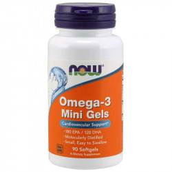 NOW Omega-3 Mini Gels 90caps