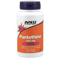 NOW Panthenine 300mg 60caps