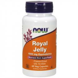 NOW Royal Jelly 1500mg Equivalency 60vegcaps