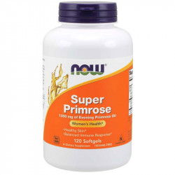NOW Super Primrose 1300mg Of Evening Primrose Oil 120caps