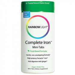 RAINBOW LIGHT Complete Iron Mini-Tabs 60tabs