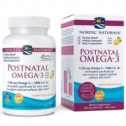 NORDIC NATURALS Postnatal Omega-3 60caps