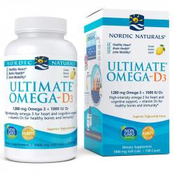 NORDIC NATURALS Ultimate Omega-D3 120caps