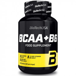 Biotech USA BCAA+B6 100tabs
