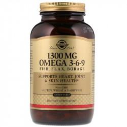 SOLGAR 1300mg Omega 3-6-9...