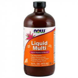 NOW Liquid Multi 473ml