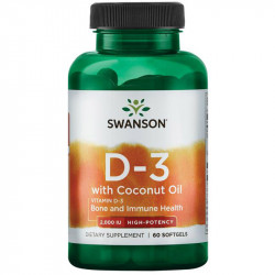 SWANSON D3 With Coconut Oil...