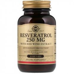 SOLGAR Resveratrol 250mg...