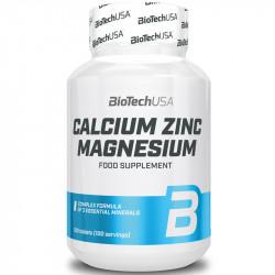 Biotech USA Calcium Zinc...