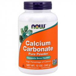 NOW Calcium Carbonate Pure...