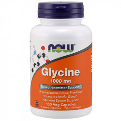 NOW Glycine 1000mg 100vegcaps