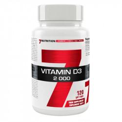 7NUTRITION Vitamin D3 2000...