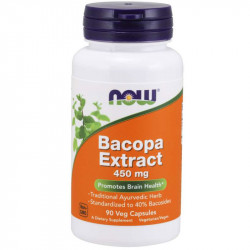 NOW Bacopa Extract 450mg...