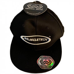 MUSCLETECH Snapback Black...