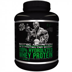 SCITEC 100% Hydrolyzed Whey...