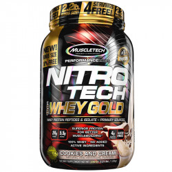 MUSCLETECH Nitro Tech 100%...
