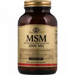 SOLGAR MSM 1000mg 120tabs