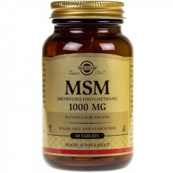 SOLGAR MSM 1000mg 60tabs