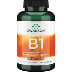 SWANSON Vitamin B-1 100mg...