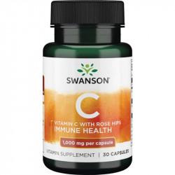 SWANSON Vitamin C With Rose...
