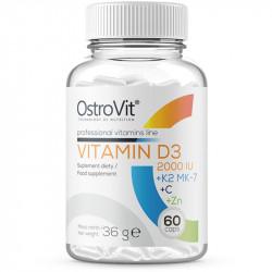 OSTROVIT Vitamin D3 2000 IU...