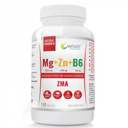 WISH Mg+Zn+B6 120tabs